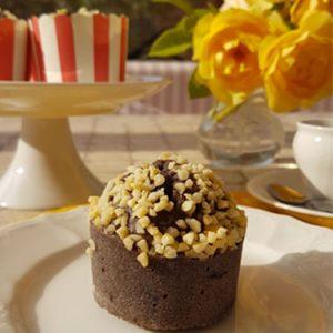 Impiattare i muffin ai mirtilli e mandorle | Homework & Muffin