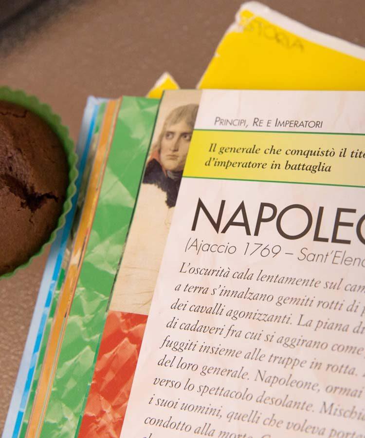 Napoleone Bonaparte - approfondimento di italiano secondo anno scuola secondaria primo grado | Homework & Muffin