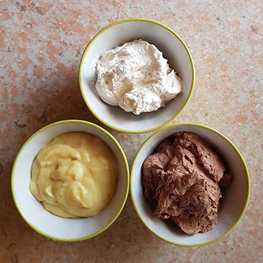 Crostata sablé alle due creme per la merenda dolce degli studenti della Scuola Secondaria di I grado a cura di Gabriella Rizzo
