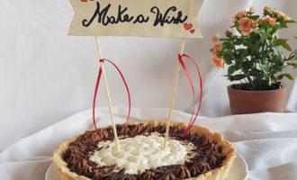 Crostata sablé alle due creme per la merenda dolce degli studenti di Scuola Secondaria di I grado a cura della prof.ssa Gabriella Rizzo | Homework & Muffin