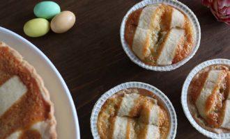 Pastiera con cuore di pistacchio, merenda dolce nelle vacanze pasquali per gli alunni della scuola secondaria di I grado | Homework & Muffin