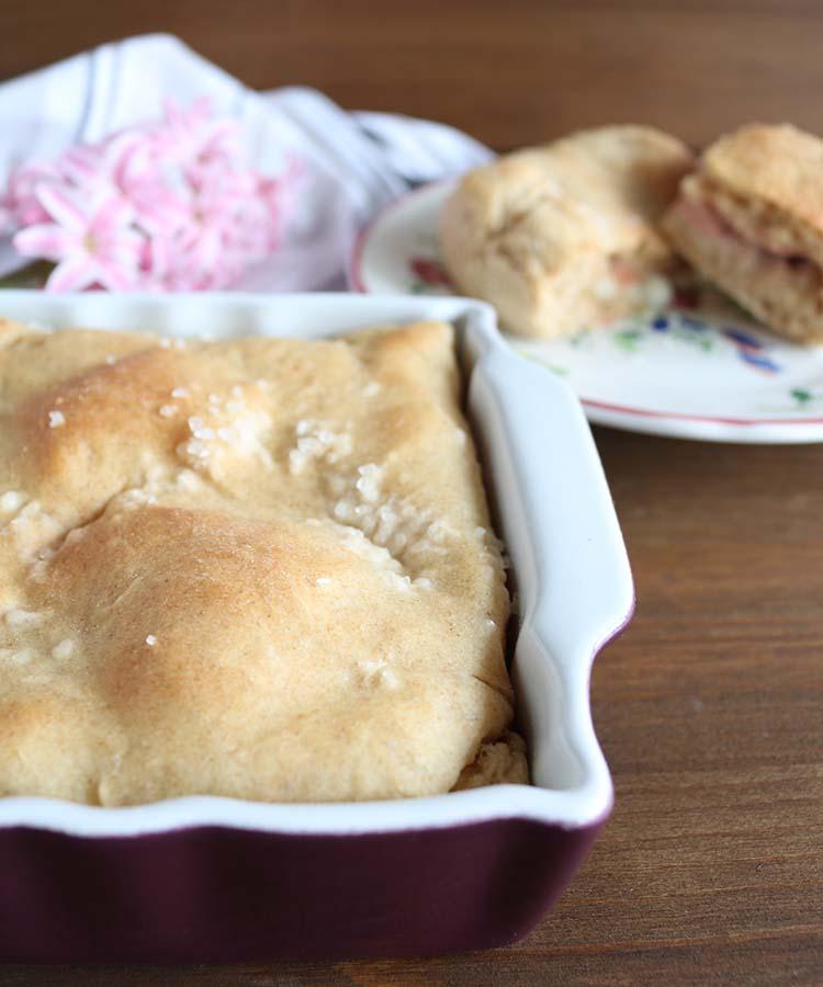 Ciaccino senese, ricetta per la merenda salata per gli studenti della Scuola Secondaria di I grado | Homework & Muffin
