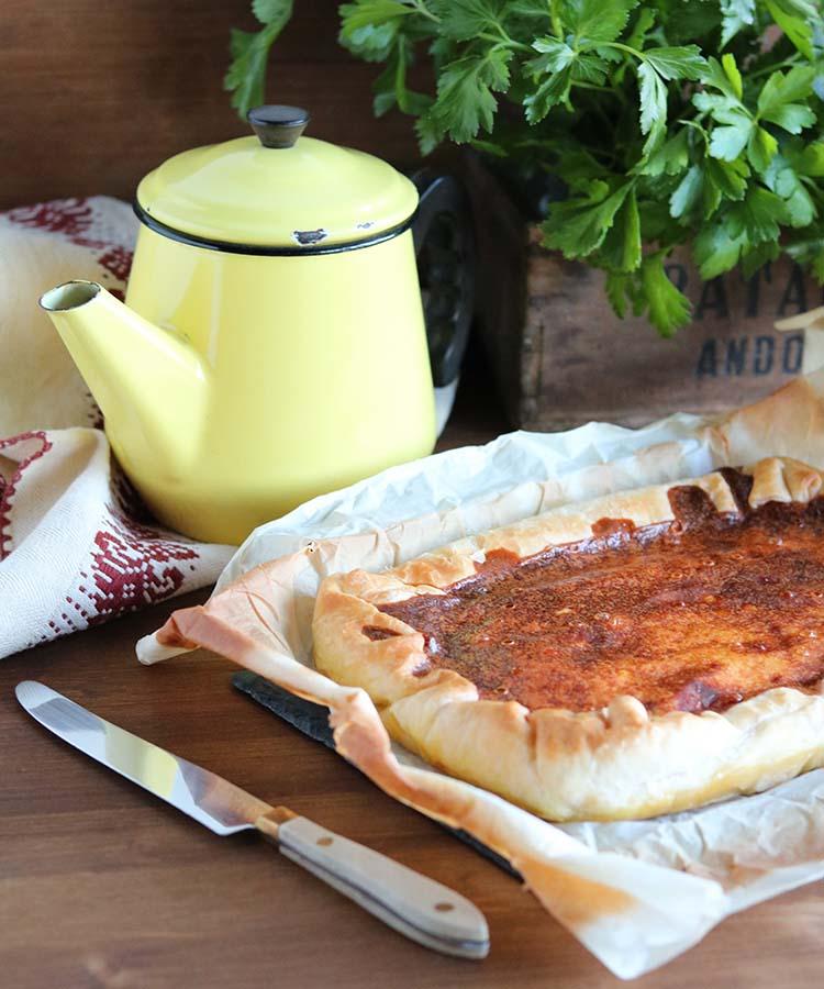Torta salata con zucca e pancetta, ricetta per la merenda salata per gli studenti della Scuola Secondaria di I grado a cura di Gabriella Rizzo | Homework & Muffin