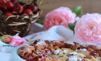 Clafoutis alle ciliegie, ricetta per la merenda dolce, a cura di Gabriella Rizzo | Homework & Muffin