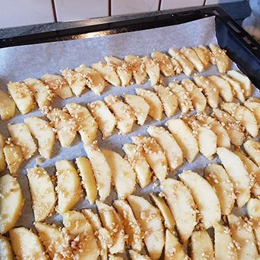 Tortini con pane di segale e mele rosse Cuneo IGP, ricetta dolce per il contest Lo Pan Ner 2019 - I Pani delle Alpi | Homework & Muffin