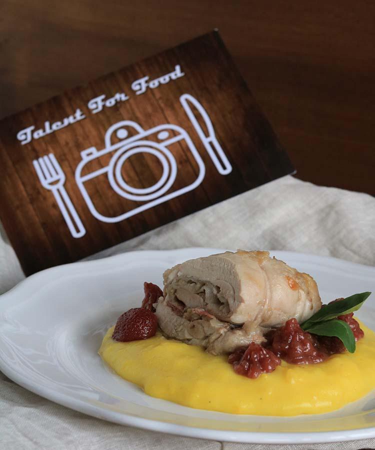 Involtini di pollo e carciofi all'agrodolce, ricetta salata partecipante al contest Talent for Food 2019, a cura di Gabriella Rizzo   Homework & Muffin