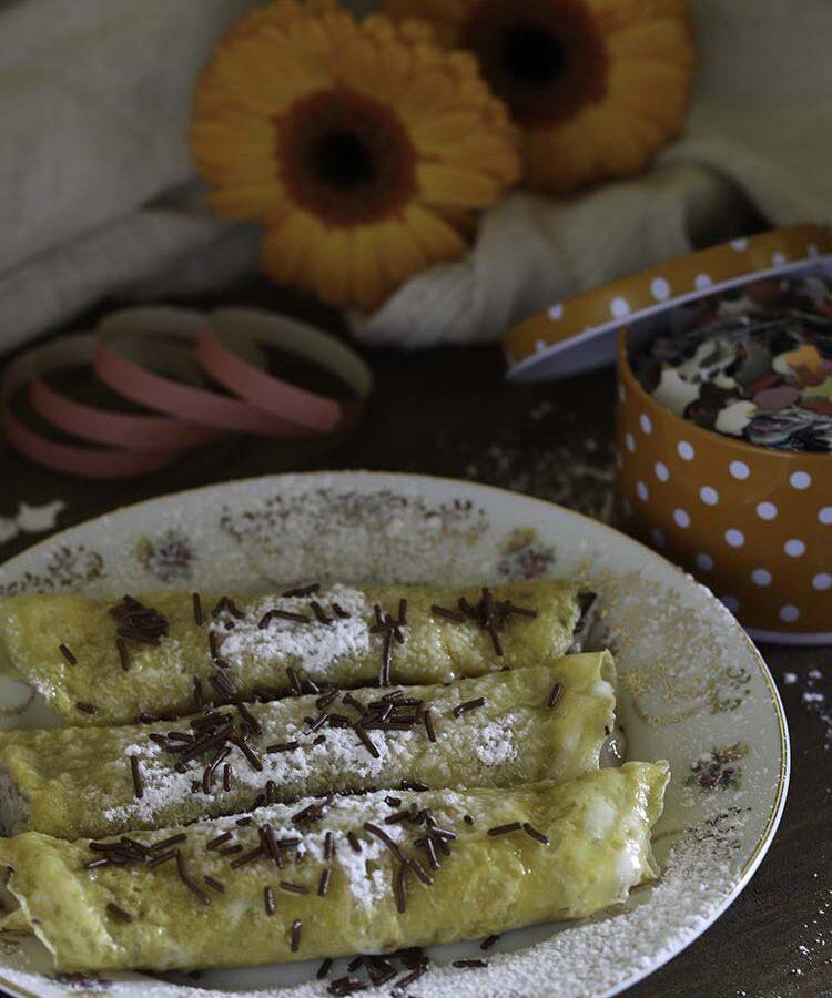 Cannelloni dolci o Dita degli Apostoli, ricetta pugliese di un dolce di Carnevale leggero e delicato, a cura di Gabriella Rizzo | Homework & Muffin