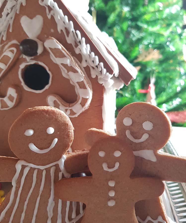 Ricetta a cura di Gabriella Rizzo per preparare insieme ai nostri bimbi una Gingerbread house e dei biscotti pan di zenzero. | Homework & Muffin